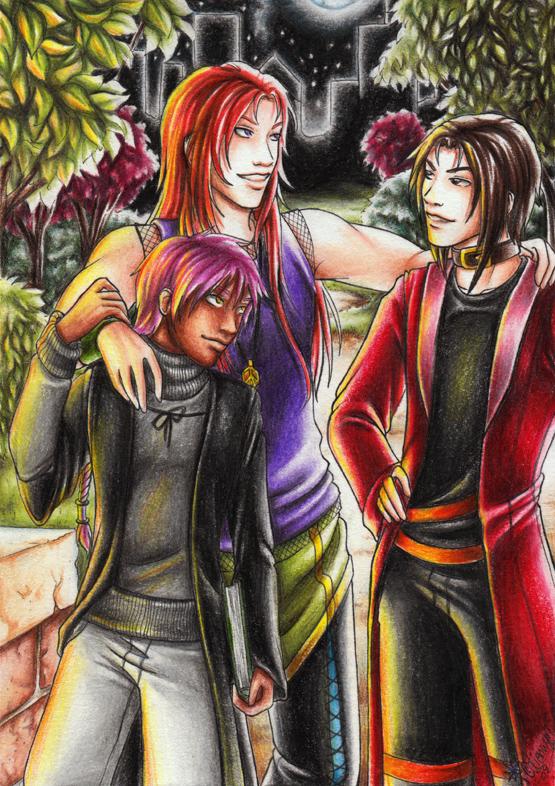 The Vampire Trio by Lienwyn