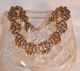 Helm Weave Chainmaille Bracelet