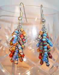 Resistor Cascade Earrings