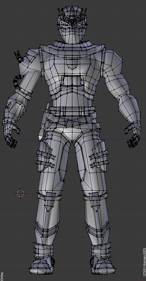 Low Poly Character Modeling Blender : Low poly character in blender by erik mx on deviantart
