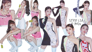 ITZY LIA PNG Pack {ITz ICY Photobook}