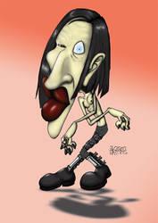 Marilyn Manson by wakwham