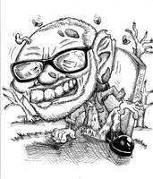 George Romero by wakwham