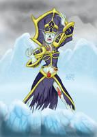 Ghastly Conjurer by wakwham