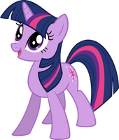 Happy Twilight Sparkle - Vector by VaderPL