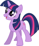 Happy Twilight Sparkle - Vector