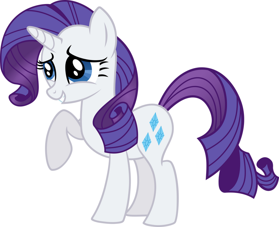 Rarity - Vector by VaderPL