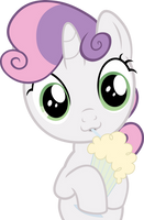 Sweetie Bell - vector by VaderPL