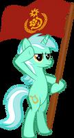 Lyra Hearstrings #1 Red Banner