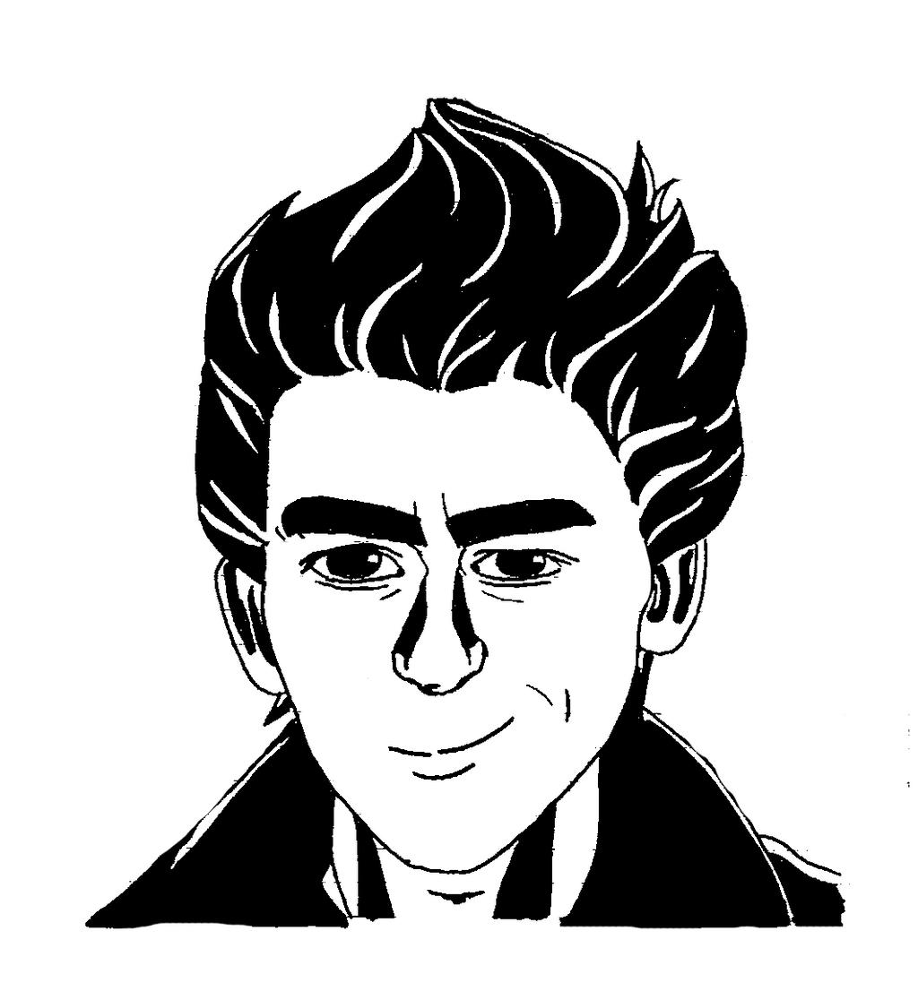 Black Marker Drawing - Reupload (scan Update) By Miaugosia On DeviantArt