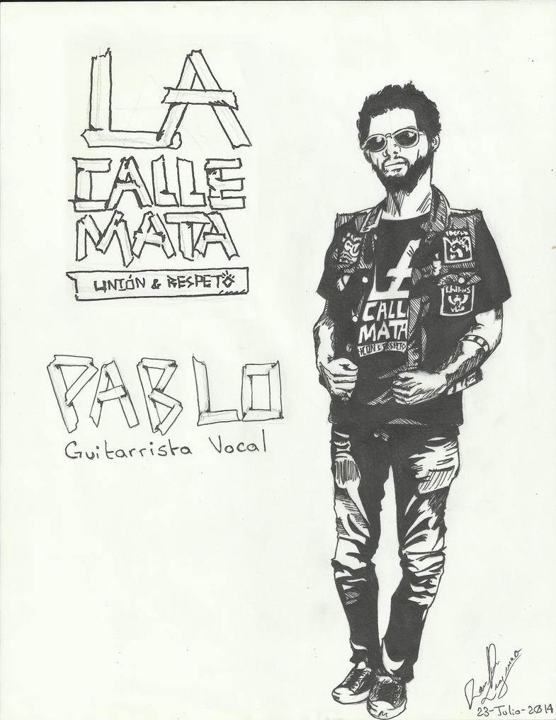 Pablo LAcallemata by dark-ishida-lover
