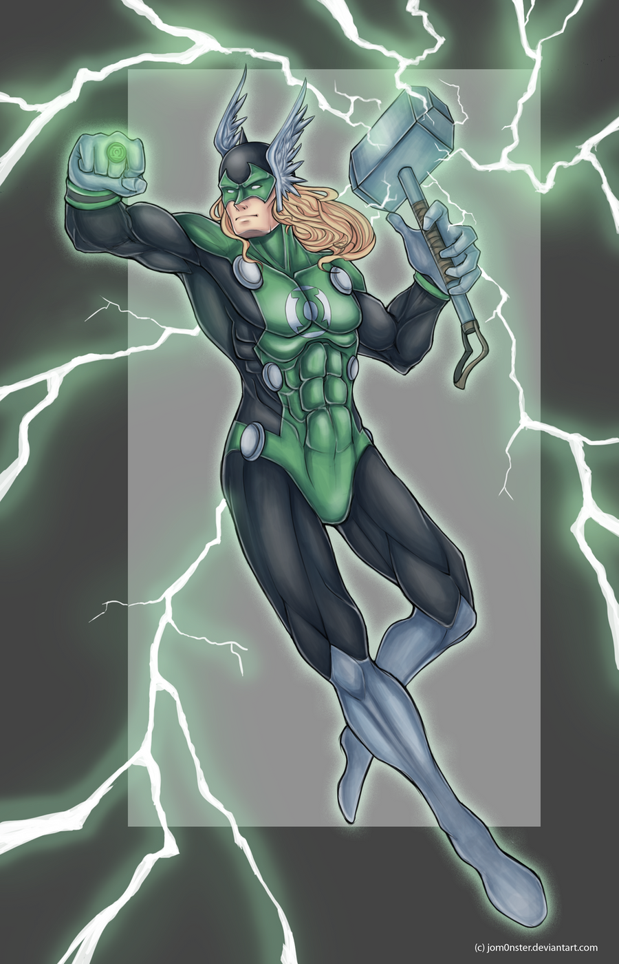 green thor by JomanMercado