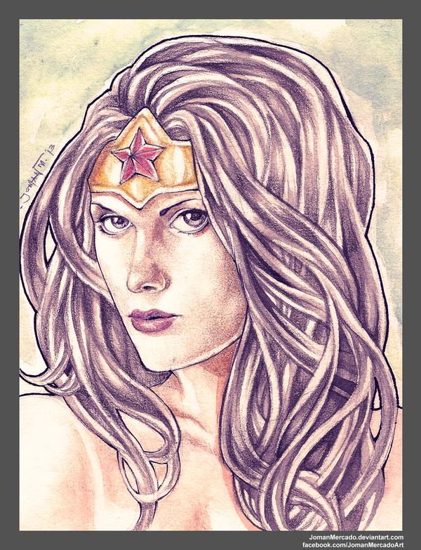 Wonder Woman by JomanMercado