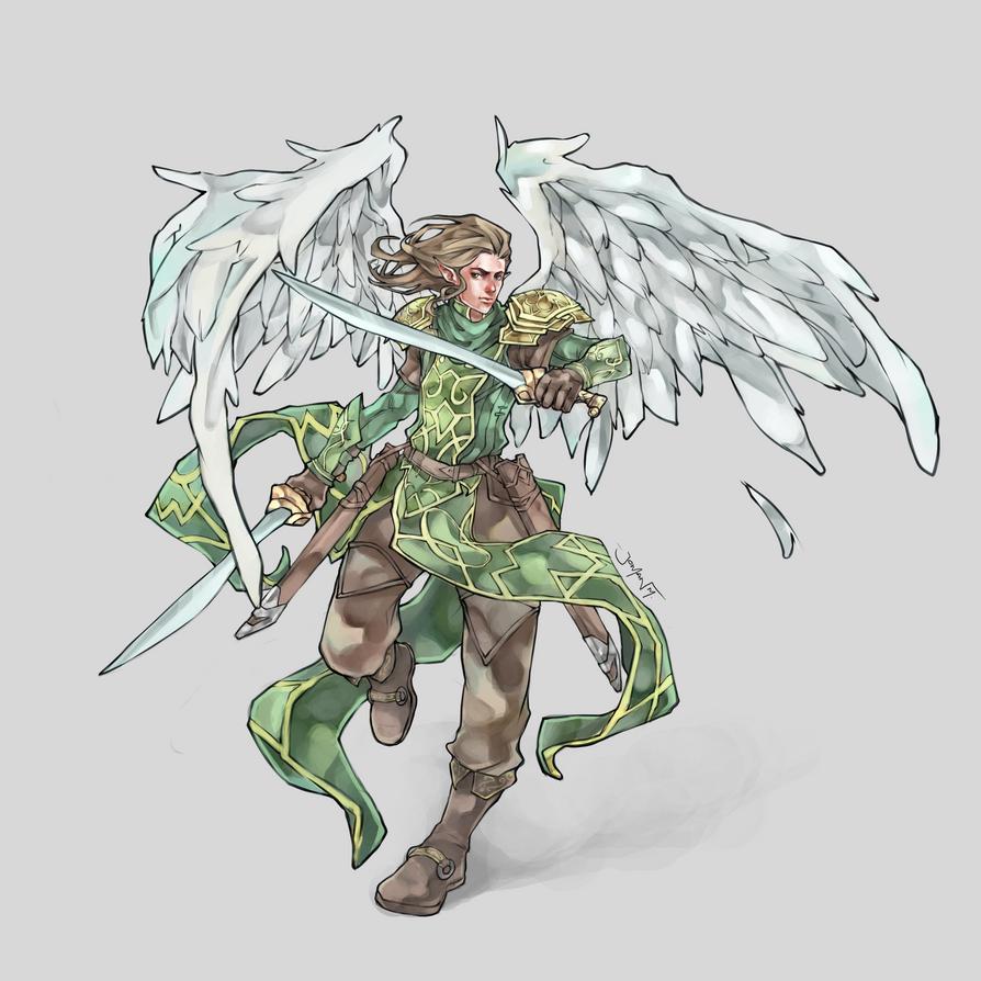 Commission: Icarus Callatuil by JomanMercado