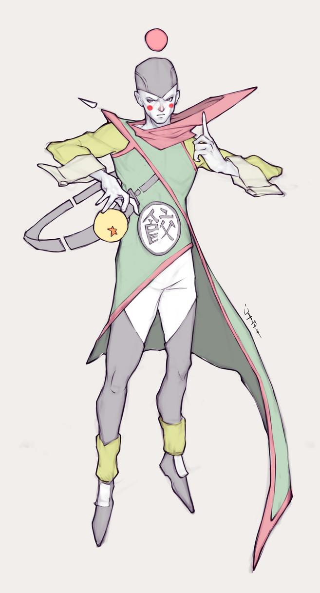 Character Design Challenge: Chiaotzu by JomanMercado