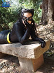 Julie Newmar 's Catwoman cosplay