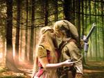 Zelda and Link by noooooname