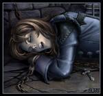 Richter in Castlevania dungeon