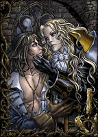 Richter and Alucard color by Candra