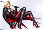 Power Girl as Nightwing