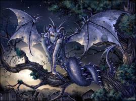 Moondragon by Candra