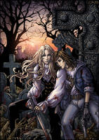 Hunters' Rest - color by Candra