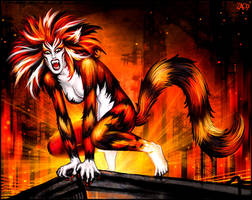 Macavity girl by Candra