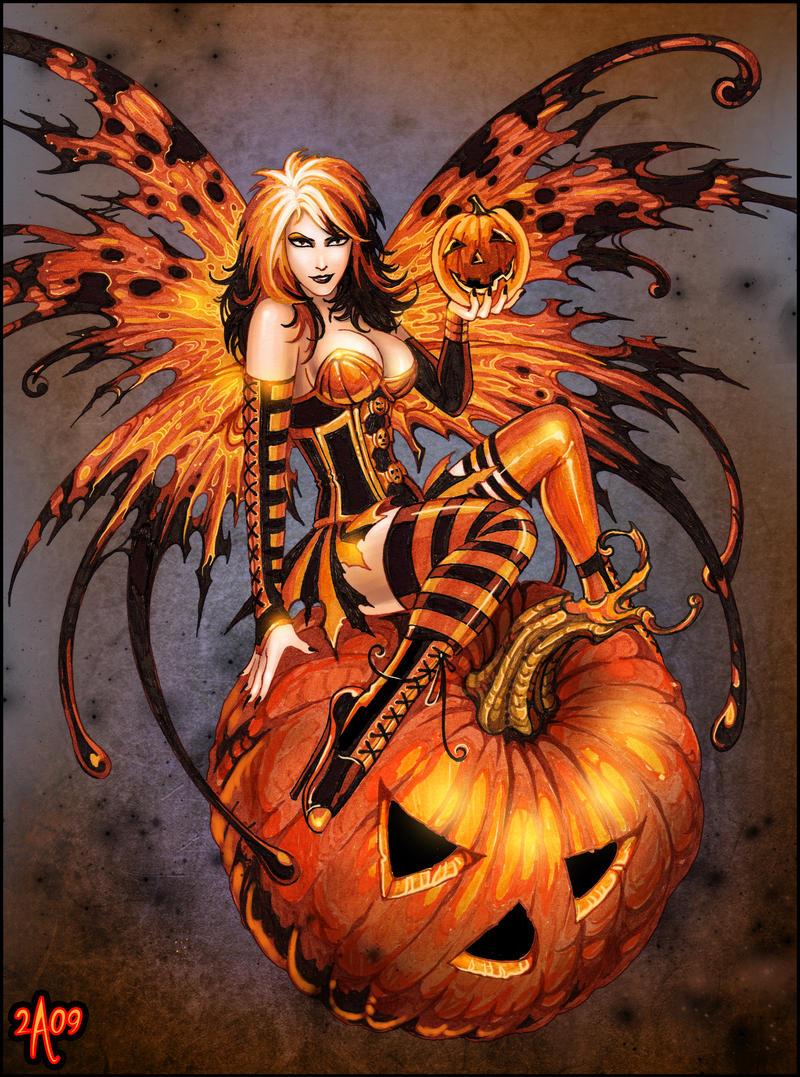 Part 14 / 9 Fairy_of_Halloween_Pumpkin_by_Candra