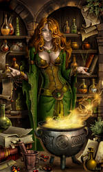Potion Shop by Candra