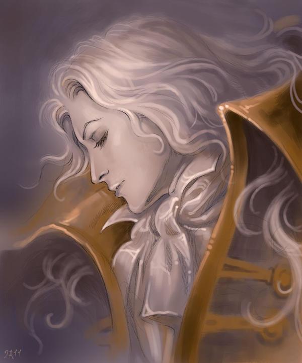Dreaming Alucard