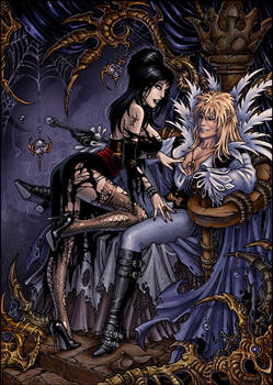 Jareth and Elvira