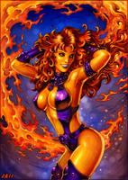 .Starfire. by Candra