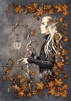 Thranduil by Candra