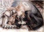 Sleeping Demon and Dreamy Angel