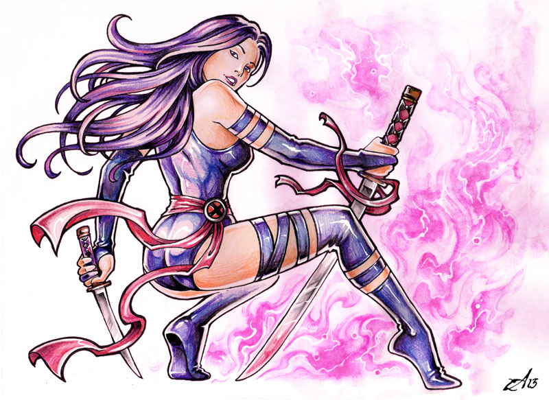 Psylocke by Candra