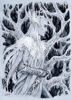 Frosty winter in Mirkwood