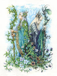 Kings of Seelie and Unseelie Courts