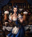 Dimona the Bar Maiden