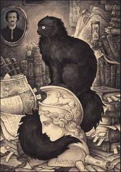 Cat Named Edgar Poe