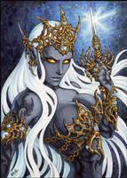 Drow Priestess by Candra