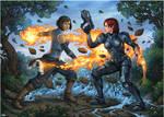 Korra vs Shepard - 2
