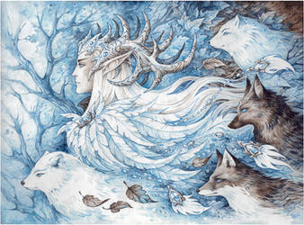 Spirits of Winter by Candra