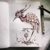 Instaart - Bird by Candra