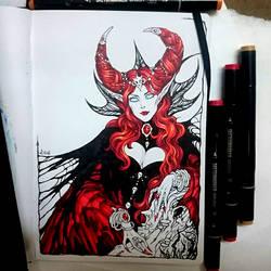 Instaart - Queen Nicnevin