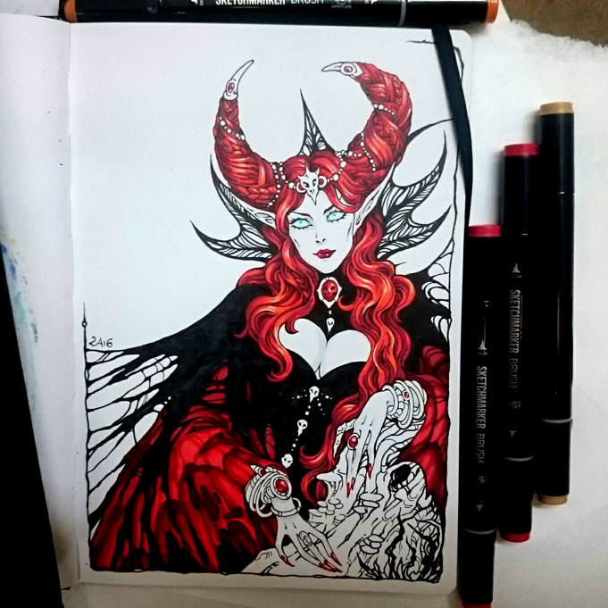 Instaart - Queen Nicnevin by Candra
