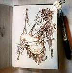 Instaart - Fairy Bagpiper