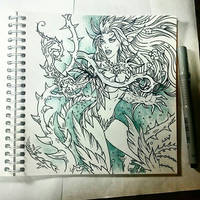 Instaart - Zyra (NSFW optional) by Candra