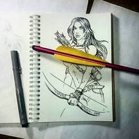 Instaart - Lara Croft (NSFW optional) by Candra