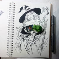 Instaart - Sorceress (NSFW optional) by Candra