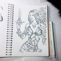 Instaart - Aribeth (NSFW optional) by Candra